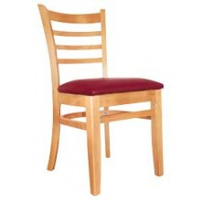 Deluxe Ladderback Chair Natural Finish