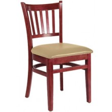 Slatback Chair Mahogany Finish