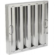 "16"" H x 16"" W Aluminum Baffle Grease Filter"