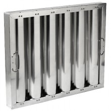 "16"" H x 20"" W Aluminum Baffle Grease Filter"