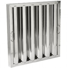 "20"" H x 20"" W Aluminum Baffle Grease Filter"