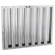 """20"""" H x 25"""" W Stainless Steel Baffle Grease Filter"""