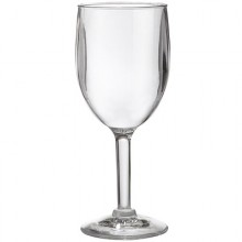 8 Oz. SAN Drinkware Wine Glass