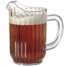 32 Oz. Deluxe Pitcher - Clear