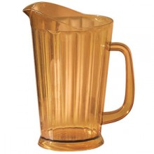 60 Oz. Plastic Beer Pitcher - Amber