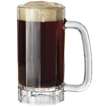 17 Oz. Panelled SAN Beer Mug