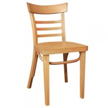 Wood Ladderback Chair – Natural Finish