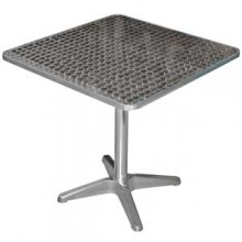 "28"" x 28"" Aluminum Indoor Table"