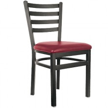 Deluxe Metal Frame Ladderback Chair