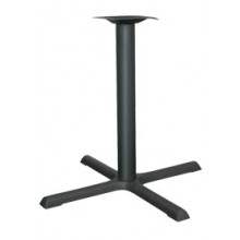 "30"" Base Standard Black Column Table Base"