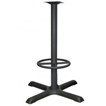 "36"" Base 3"" Column Stand-Up Ringed Base"