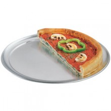 "14"" Diameter Aluminum Pizza Pan"