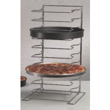 "Oversize 10 Shelf / 2"" Pans Rack"