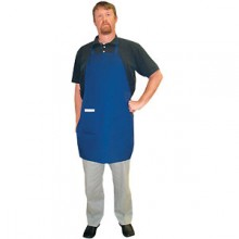 "30"" x 34"" Full-Length Bib Apron w/ Single Side Pocket"