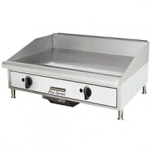 "24"" W Manual Countertop Gas Griddle"