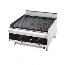 "24"" W Star-Max™ Heavy-Duty Radiant Gas Charbroiler"
