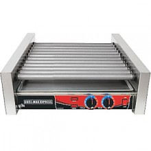 "23 3/4"" W 30 Hot Dog Roller Grill"