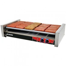 """35 3/4"""" W 50 Hot Dog Roller Grill"""