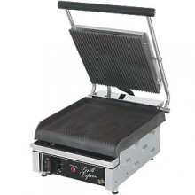 Grooved Small Grill-Express™ Panini Grill