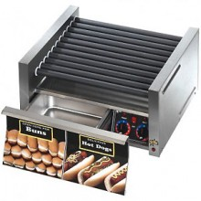 30 Hot Dog 32 Bun Roller Grill with Bun Drawer