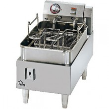 15 Lb. Capacity 25 Lb. Fries/Hour Heavy Duty Electric Counter Fryer