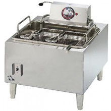 15 Lb. Capacity 28 Lb. Fries/Hour Heavy Duty Electric Counter Fryer