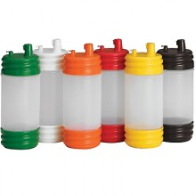 SaferFood Solutions™ PourMaster® Low Profile Top Containers – Assorted