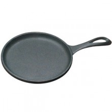 "7"" Diameter Flat Round Serving Griddle"