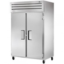 Two Solid Swing Door Top Mount Freezer