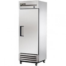19 Cubic Ft One Swing Door Freezer - Stainless Steel Doors and Front - Aluminum Ends