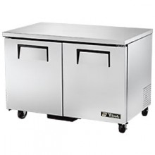 "48 3/8"" W 12 Cubic Ft Two Door Undercounter Freezer"
