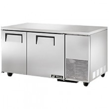 "60 1/4"" W 15.9 Cubic Ft Two Door Deep Undercounter Freezer"