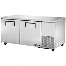 "67 1/4"" W 20.6 Cubic Ft Two Door Deep Undercounter Freezer"