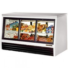 "72 1/2"" W 25 Cubic Ft Six Door Counter Height - Self Serve"