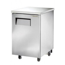 "1 Door 23 3/8"" Wide Stainless Steel Back Bar Cooler"