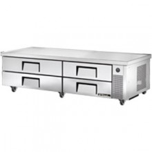 "84"" W Four Drawer Ten Pan Extended Top Refrigerated Chef Base"