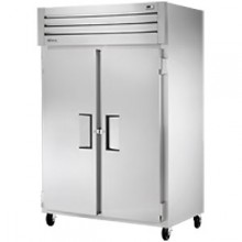 Two Solid Swing Door Top Mount Refrigerator