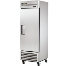 23 Cubic Ft One Swing Door Refrigerator - Stainless Steel Doors and Front - Aluminum Ends