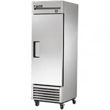 23 Cubic Ft One Swing Door Refrigerator - All Stainless Steel