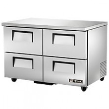 "48 3/8"" W 12 Cubic Ft Four Drawer Undercounter Refrigerator"