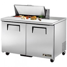 "48 3/8"" W Two Door Eight Pan Sandwich/Salad Unit"