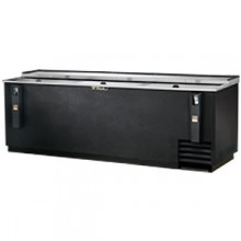 "95"" Wide Black Exterior Bottle Cooler"