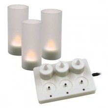 Rechargeable LED Candles - 6 Pack