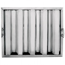 "20""W x 16""H x 1 1/2""D Value Baffle Grease Filter"