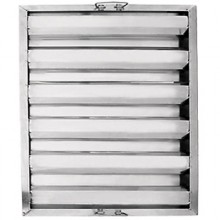 "25""W x 20""H x 1 1/2""D Value Baffle Grease Filter"