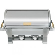 8 Quart Roll-Top Chafer