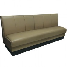 Wide Panel Wall Bench