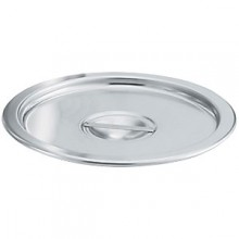"7.5 Quart 8 3/8"" Diameter Stainless Steel Stock Pot Cover"