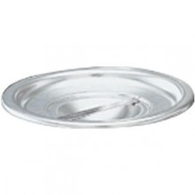 "2 Quart 4 7/8"" Diameter Stainless Steel Bain Marie Cover"