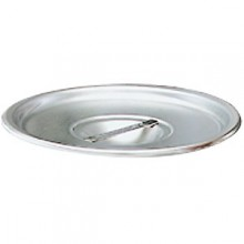 "4.25 Quart 6 1/2"" Diameter Stainless Steel Bain Marie Cover"